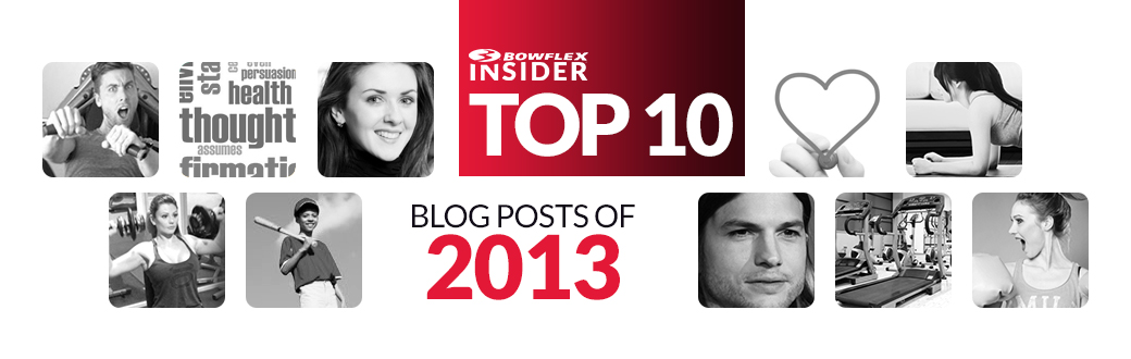 Bowflex Insider favorite health and fitness blog posts for 2013