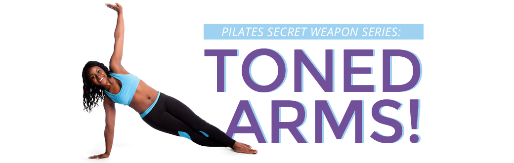 Tone and shape your arms with easy Pilates moves at home