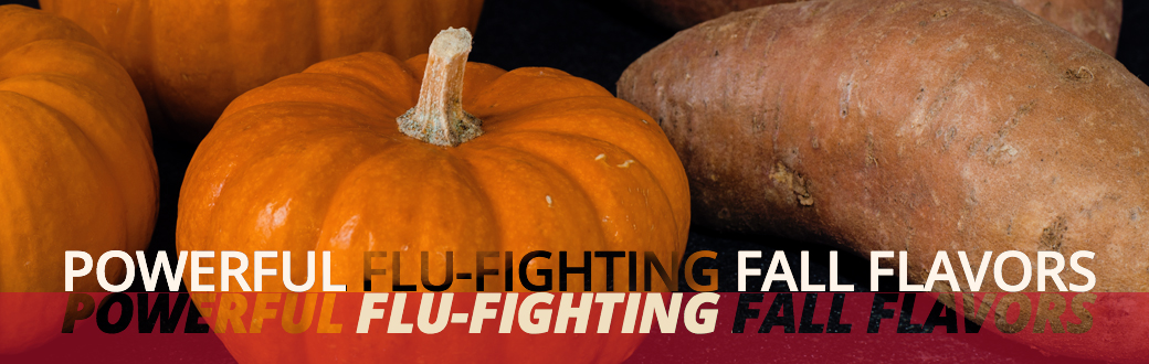 Powerful Flu-Fighting Fall Flavors