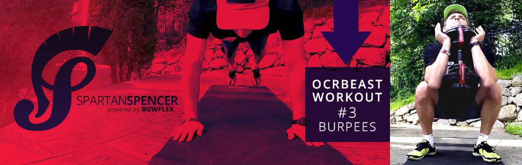 Spartan Spencer OCRBeast Workout #3: Burpees