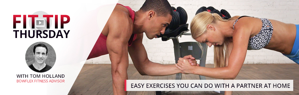 Easy Exercises You can do with a Partner at Home